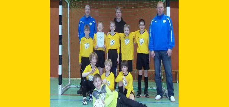 2.Platz Endrunde Hallenkreismeisterschaft 2010/11