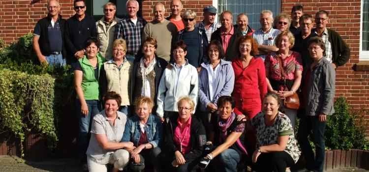 Altliga Stikelkamp/Holtland/Nortmoor radelt flott nach Rhede an der Ems
