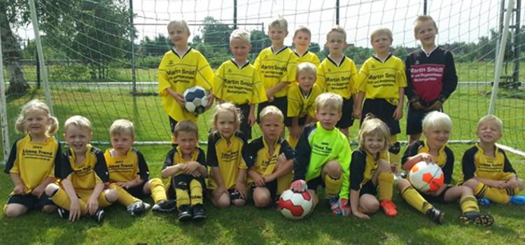 G-Jugend auf der Sportwoche des VfL Jheringsfehn