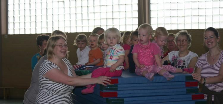 Die Eltern-Kind-Gruppe stellt sich vor