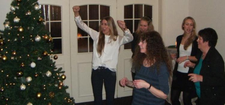 Weihnachtsfeier und Tag der offenen Tür im neuen Vereinsheim