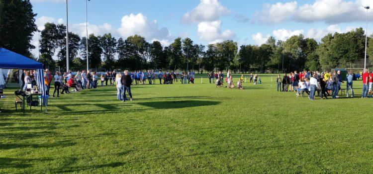 Viele Besucher beim ersten Flunkyball Turnier der Stikelkamper Sportwoche