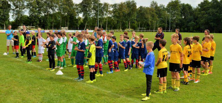 Bilder vom Turnier der D-Jugend am ersten Sonntag der Sportwoche 2016