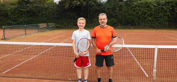 Ein weiterer Neuzugang beim Tennis