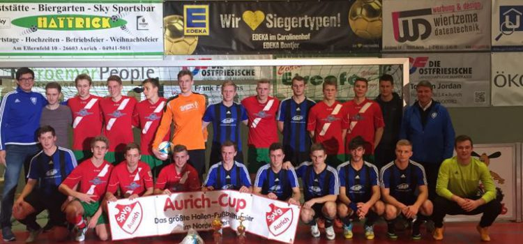A-Jugend auf dem Aurich Cup 2016 erfolgreich