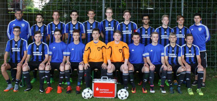 Unsere Fußball-A1 in Bildern