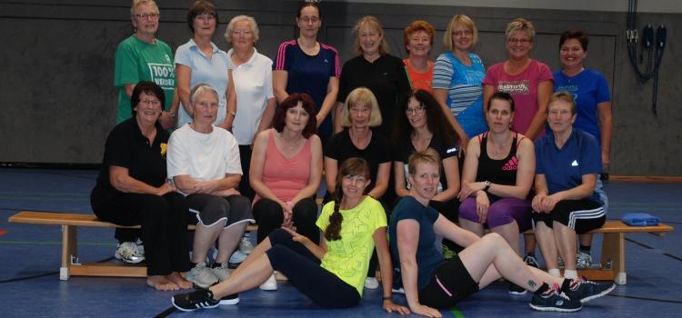 Die Frauen-Fitness-Gruppe