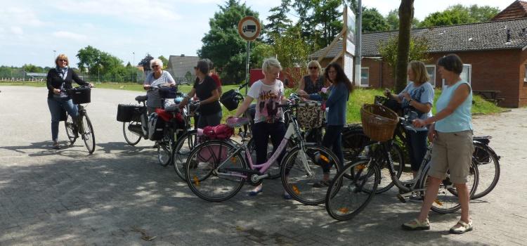 Auf die Räder fertig los! Fahrradtour 27.7.17