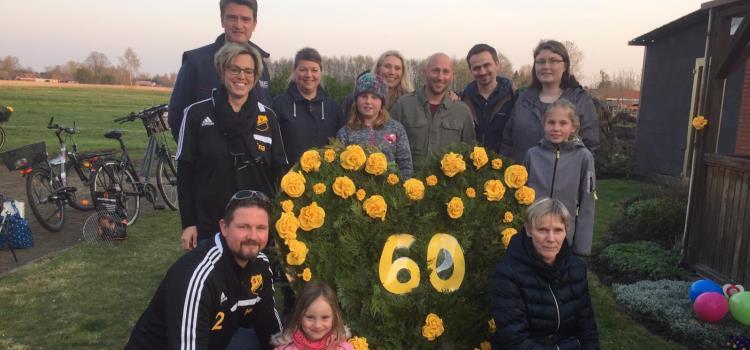 Große Überraschung zum 60. Geburtstag